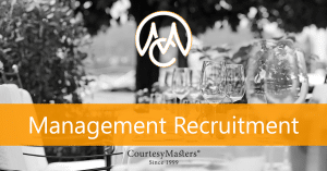 CourtesyMasters general management recruitment