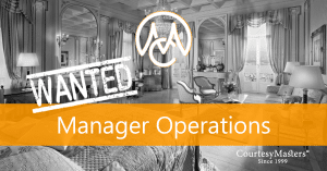 Job Manager Operations via CourtesyMasters