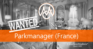 Job vacancy Parkmanager via CourtesyMasters