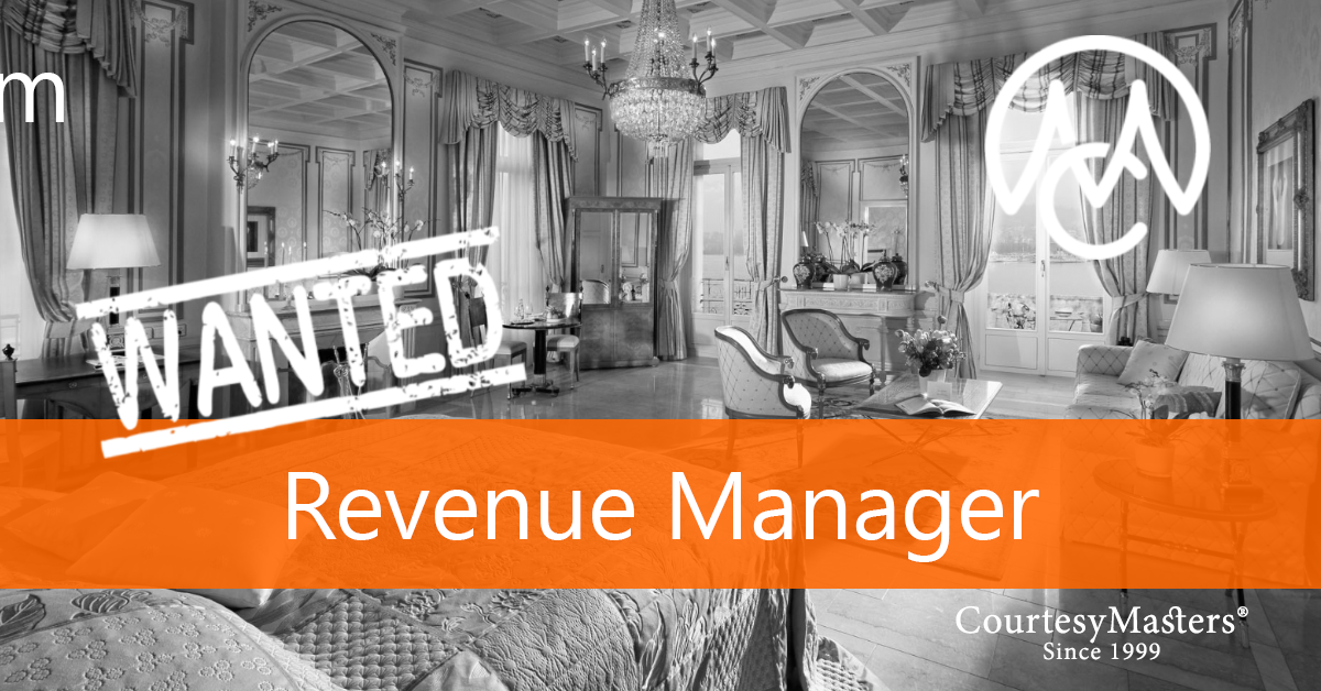 Job vacancy Revenue Manager ico Reservations via CourtesyMasters
